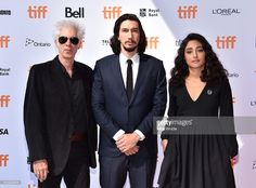 Writer/director Jim Jarmusch and actors Adam Driver and Golshifteh Farahani…