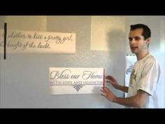 The DOs And DONTs Of Installing Vinyl Wall Decal On A Slightly - Vinyl wall decal application youtube