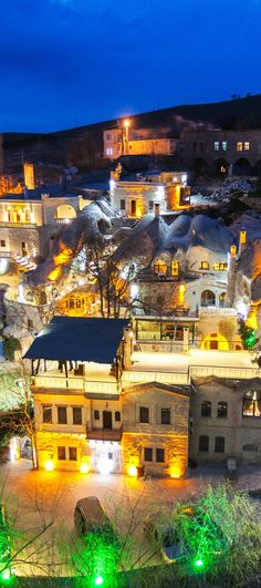 Gamirasu Cave #Hotel – rooms built into volcanic rock #Turkey #travel