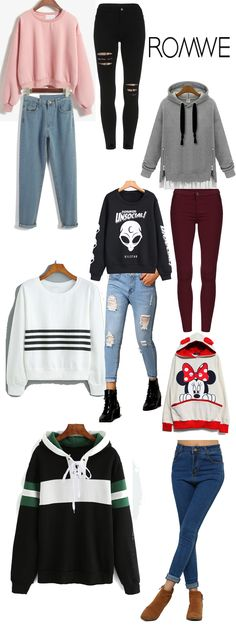 Some costumer said i need an editor. Do you think so? Anyway, today i get the sweatshirt&  pant outfit for you from romwe.com!