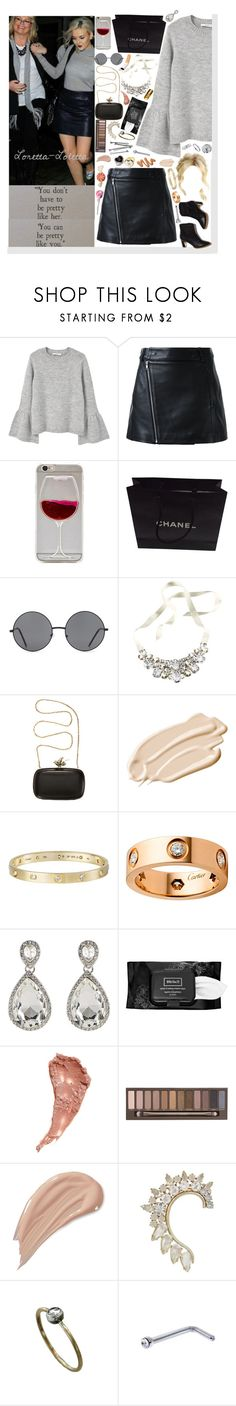 """Is that your b!tch over there, giving me the ugly stare? With the silicone ass and brazilian hair.♥"" by loretta-mccoy ❤ liked on Polyvore featuring MANGO, Dion Lee, Wet Seal, Rupert Sanderson, Chanel, Forever 21, H&M, Givenchy, Vera Wang and Stila"