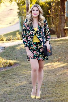 Look do dia: Floral lover