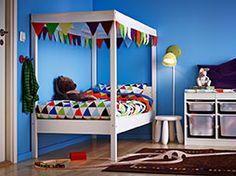 Vrolijke slaapkamer