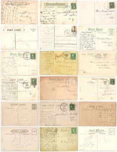 FREE Antique Postcard Graphics. And good site for other inexpensive graphic downloads