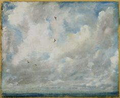 John Constable • Cloud Study