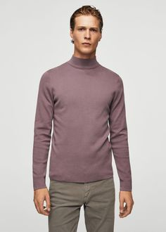Cotton perkins neck sweater -  Women | MANGO USA | @giftryapp