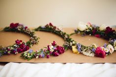 A Silver Skirt and Pretty Floral Crown For A Spring Garden Wedding | Love My Dress® UK Wedding Blog