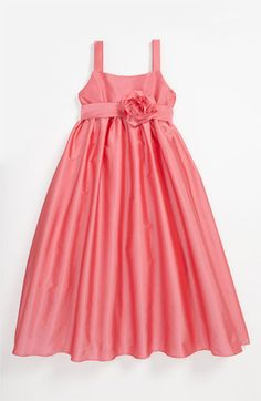 Us Angels Empire Waist Dress (Little Girls & Big Girls) available at Nordstrom