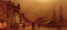 By John Atkinson Grimshaw (1836 – 1893)