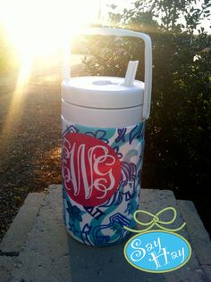 Alpha Delta Pi Monogram Cooler