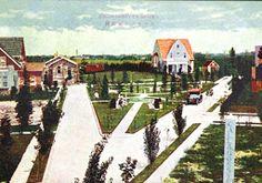 大阪、伽羅橋、現在は住宅地のまぼろしの三角地には噴水と芝と公園があった