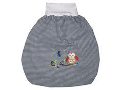 Baby Pucksack Strampelsack Vichy Karo Eule von me Kinderkleidung und ersatzbezuege auf DaWanda.com