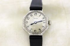 Gruen Wrist Watch with Octagonal Shaped by timekeepersinclayton