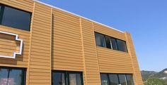 WPC (Wood Plastic Composite) Wandplatte hat eine natürliche Holzoptik , ist weit verbreitet Anwendung in öffentlichen Gebäuden, Freizeitzentrum , Büros, …