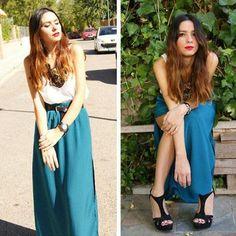 Faldas largas de moda verano 2012  http://vestidoparafiesta.com/faldas-largas-de-moda-verano-2012/