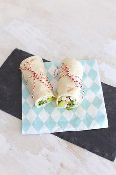 wrap met kip en avocado