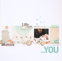 #papercraft #scrapbook #layout In between days: A SC sketch