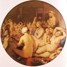 'Il Bagno Turco' è un dipinto del 1862, realizzato da Jean Auguste Dominique Ingres a 82 anni
