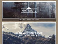 Natural Popular — Free WordPress Themes