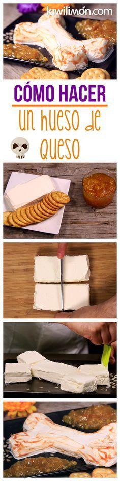 Te presentamos el paso a paso de una deliciosa y divertida botana de queso  crema en 7c8a45b9e4f