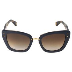 Marc Jacobs Women's MJ 506/S ONUCC Blue Gold Havana/ Brown Shaded Cateye Sunglasses   Overstock.com Shopping - The Best Deals on Fashion Sunglasses