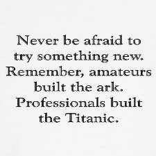 Be brave and go for it! :)