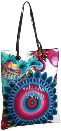 Desigual Handbags Bols Shopping 5 31X5181 Tote,Piscina Vacia,One Size - A Handbag For You - A Handbag For You