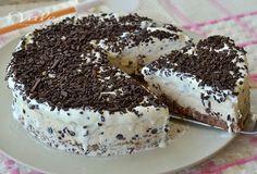 Torta gelato alla stracciatella ricetta senza cottura