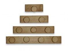Věšák ze smrkového dřeva Mexicana 2 Place Cards, Place Card Holders, Mexican