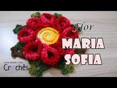 Flor Maria Sofia por Carine Strieder - YouTube