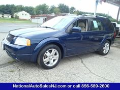 Model: 2006 Ford Freestyle   OUR PRICE:   $11,995     COLOR    Dark Blue Pearl Metallic /Pebble    MILES    126,409    Engine    3.0 V6    Trans    CVT Transmission    Stock #    S061645    VIN    1FMDK06136GA51645      Call National Auto Sales today: (856) 589-2600     Ask for Bill
