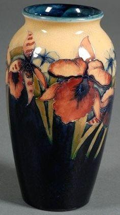 Moorcroft Iris vase