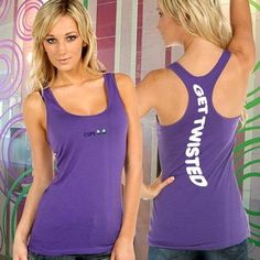 Kavio Junior Sheer Racerback Tank - Get Twisted