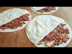 🔝 LEZZETİNE HAYRAN KALACAKSINIZ 👍 SÜREKLİ YAPMAK İSTEYECEĞİNİZ TAVADA KAPALI KIYMALI GÖZLEME TARİFİ - YouTube Pizza Pastry, Turkish Recipes, Ethnic Recipes, Bread Recipes, Favorite Recipes, Snacks, Cooking, Tuner Cars, Pancake
