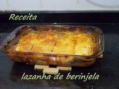 Receita -  Lasanha de berinjela #cozinhandocomaGi