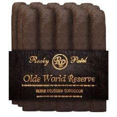 Rocky Patel Seconds Old World Reserve Robusto Maduro Cigar Bundle $45.00