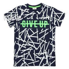 Детска тениска за момче Give up, Busen