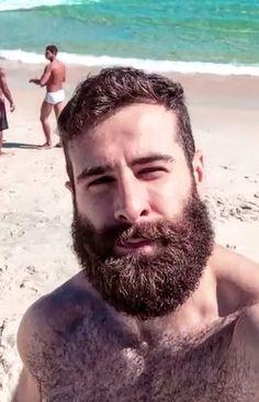 Beard Pictures, Hot Beards, Hot Guys, Hot Men, Beard Balm, Beard No Mustache, Hairy Chest, Male Form, Hair And Beard Styles