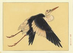 KATSUSHIKA HOKUSAI Stork [19th century]