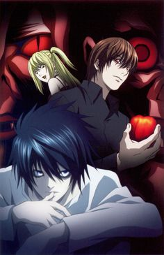Death Note// L Lawliet,Misa and Light Yagami (Kira)