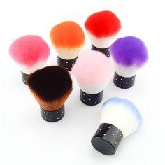kosmetik professionellen make-up pinsel einzel nylon bilden bürsten ohne logo