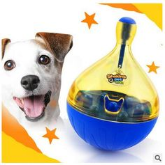 Pet Products Dog Toys Glorious Pet Dogs Interactive Exercise Toy For Boredom Puppy Tumbler Leak Food Toy Iq Training