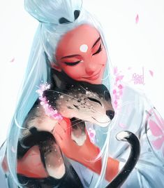 """90.7k Likes, 514 Comments - Ross Tran (@rossdraws) on Instagram: """"First art piece of 2018! Hope everybody had a great holiday spent with their loved ones. Sorry for…"""""""