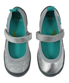 This Twinkle Silver Dance Mary Jane - Toddler & Girls is perfect! #zulilyfinds