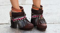 Good boho ankle boots...