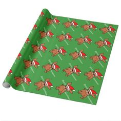 Merry Christmas Chihuahua Wrapping Paper #dogs #giftwrap