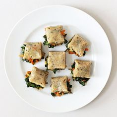 Mochi Stuffed With Kale