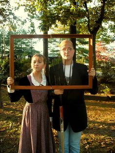 Coolest Homemade American Gothic Painting Costume