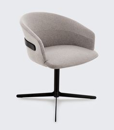 Claesson Koivisto Rune Designs the Clip Chair Collection for Studio TK Design Milk is part of Armchair furniture - Industrial Dining Chairs, Contemporary Dining Chairs, Modern Chairs, High Chairs, Industrial Furniture, Modern Armchair, Plywood Furniture, Chair Design, Furniture Design