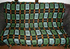 retro vintage blanket deken wolldecke  50s 60s